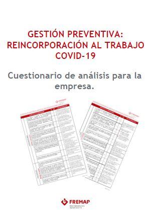 cuestionario de reincorporación