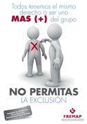 No permitas la exclusión