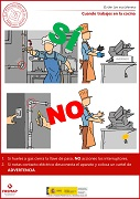 Cuando trabajes en la cocina
