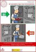 En la panadería, sigue estas recomendaciones