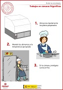 Trabajos en cámaras frigoríficas