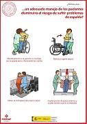 ¿Sabías que un adecuado manejo de los pacientes disminuirá el riesgo de sufrir problemas de espalda?