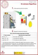 En cámaras frigoríficas sigue estas recomendaciones