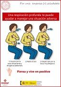 Una respiración profunda te puede ayudar a manejar una situación adversa