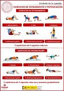 Ejercicios de estiramiento y potenciación