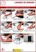 Gripe, sigue estos pasos cuando te laves las manos