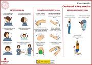 Estiramientos cuando sientas molestias (euskera)