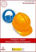 Protege tu cabeza en la construcción