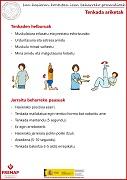Ejercicios de estiramiento (euskera)