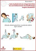 Las lesiones musculares son muy dolorosas y limitan tu vida dentro y fuera del trabajo (euskera)