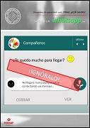 Si llega un whatsapp
