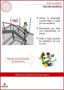 Uso de escaleras