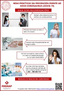 GALLEGO: Buenas prácticas en la prevención frente al nuevo coronavirus (covid-19) - recomendaciones
