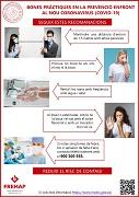 VALENCIANO: Buenas prácticas en la prevención frente al nuevo coronavirus (covid-19) - recomendaciones