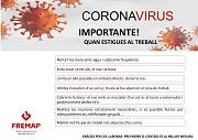 VALENCIANO: Buenas prácticas en la prevención frente al nuevo coronavirus (covid-19) - cuando estés en el trabajo
