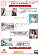 Buenas prácticas en la prevención frente al nuevo coronavirus (covid-19) - recomendaciones