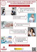 CASTELLANO: Buenas prácticas en la prevención frente al nuevo coronavirus (covid-19) - recomendaciones