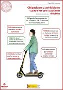 Obligaciones y prohibiciones cuando vas con tu patinete eléctrico