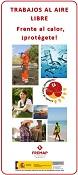 Protección frente al calor en trabajos a la intemperie