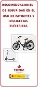Recomendacións de seguridade no uso de patinetes e bicicletas eléctricas