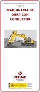 Work machinery with driver